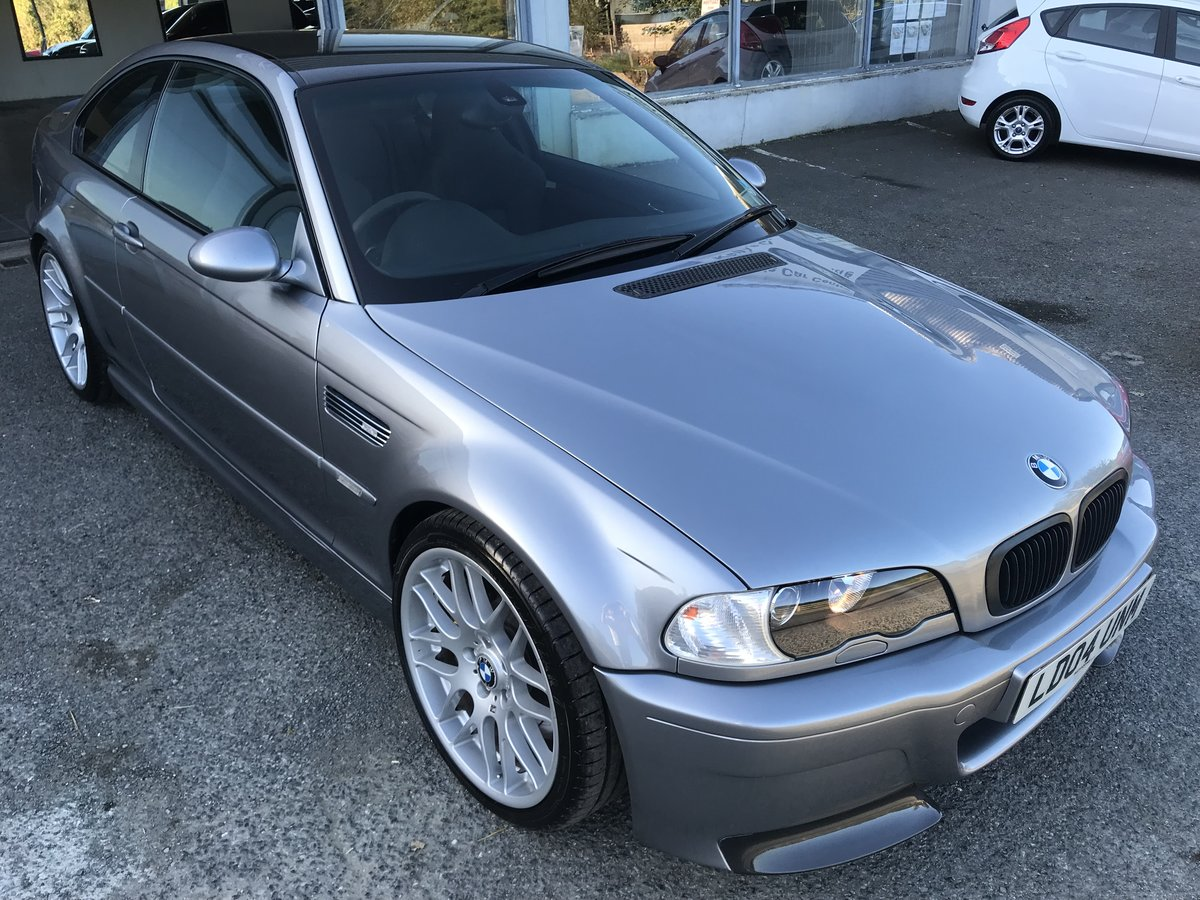 2004 BMW M3 CSL 79k For Sale (picture 1 of 6)