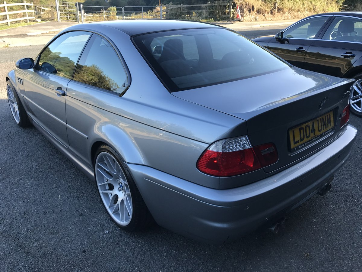 2004 BMW M3 CSL 79k For Sale (picture 2 of 6)