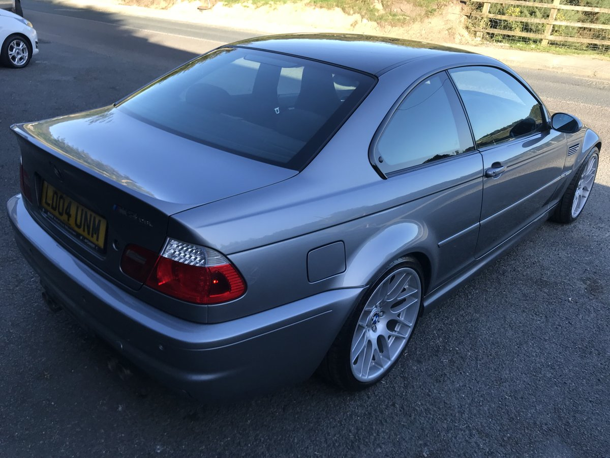 2004 BMW M3 CSL 79k For Sale (picture 4 of 6)