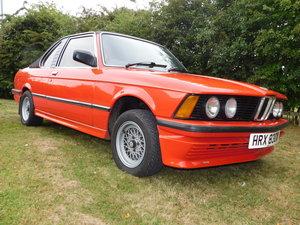 1980 BMW 320 BAUR CABRIOLET AUTOMATIC Estimate £6,000-£8,000