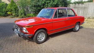 1975 BMW 2002 tii Lux Fully Restored    LOT: 753   Est £25-30,000