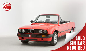 1991 BMW E30 318i Cabriolet /// Freshly Serviced /// 61k Miles SOLD