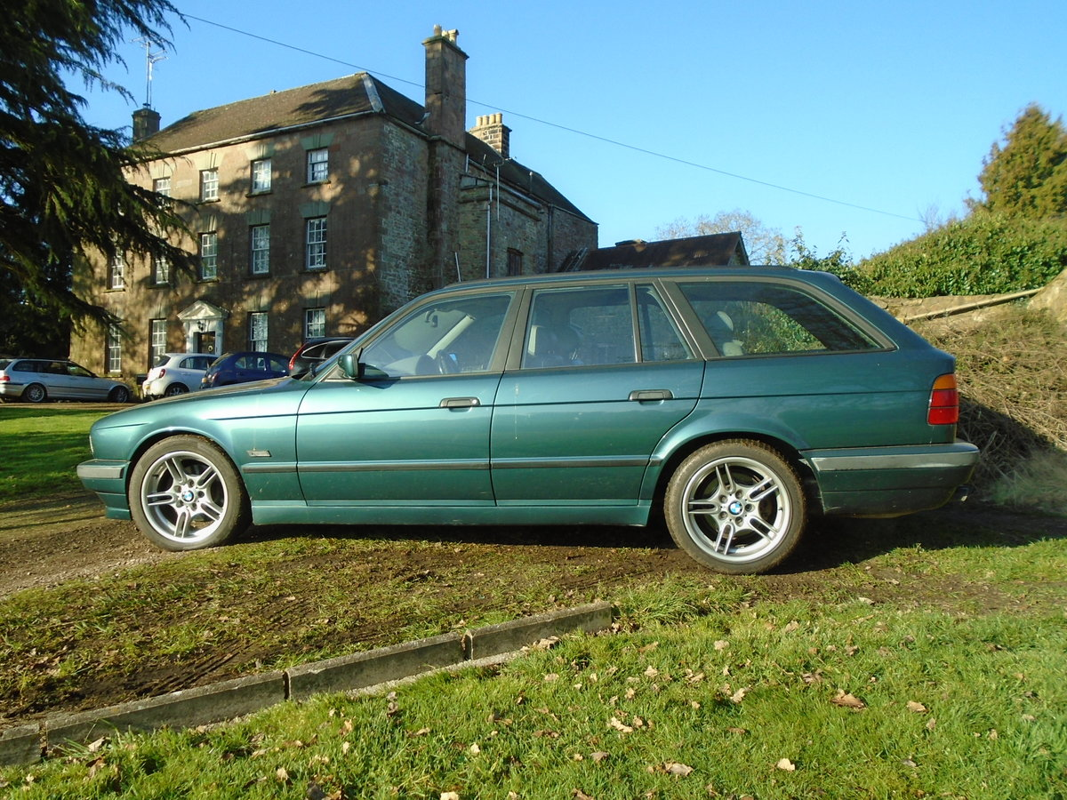1996 BMW E34 540 Touring Auto (VGC) 12 months MOT For Sale (picture 1 of 6)