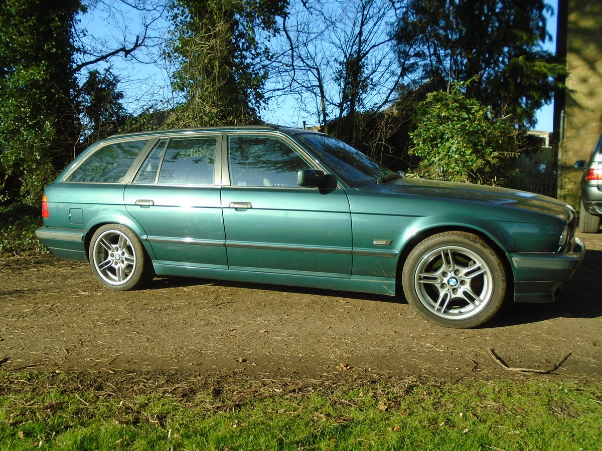 1996 BMW E34 540 Touring Auto (VGC) 12 months MOT For Sale (picture 2 of 6)