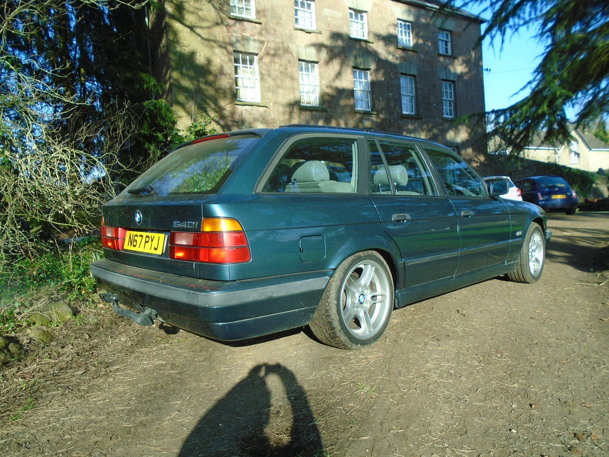 1996 BMW E34 540 Touring Auto (VGC) 12 months MOT For Sale (picture 3 of 6)