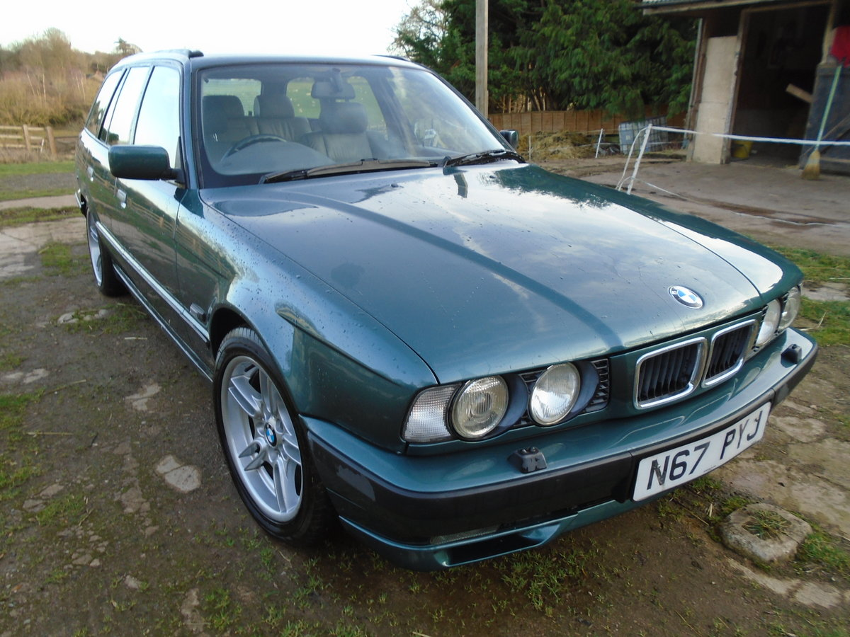 1996 BMW E34 540 Touring Auto (VGC) 12 months MOT For Sale (picture 4 of 6)