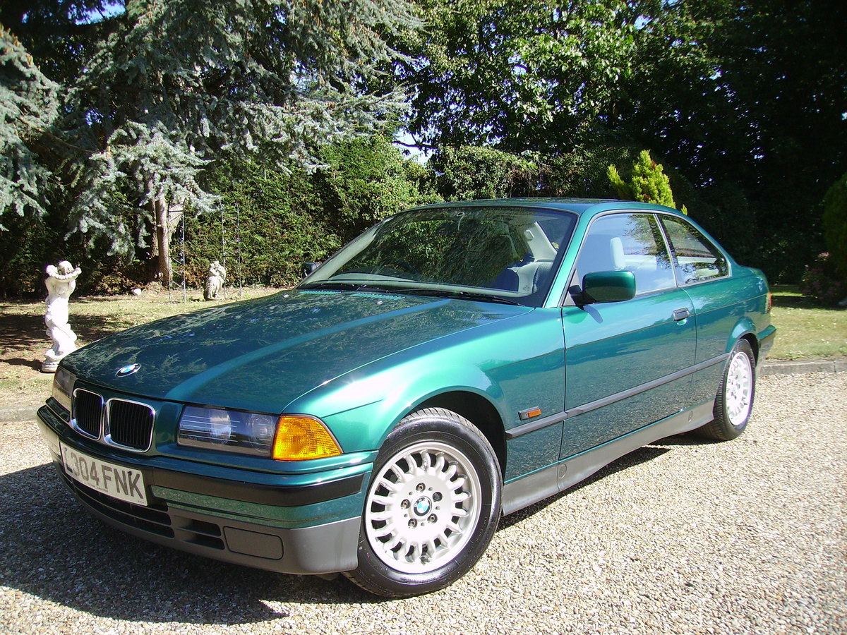 1993 BMW 3 Series Very low mileage - great condition For Sale (picture 1 of 6)