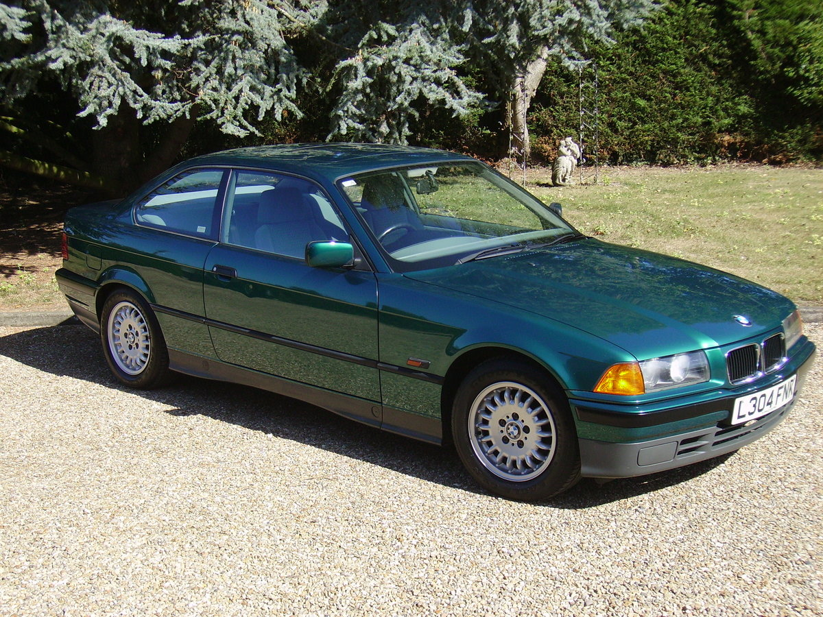 1993 BMW 3 Series Very low mileage - great condition For Sale (picture 2 of 6)