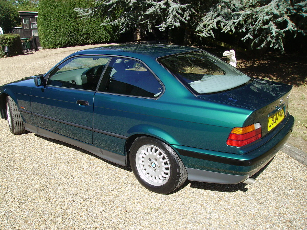 1993 BMW 3 Series Very low mileage - great condition For Sale (picture 3 of 6)