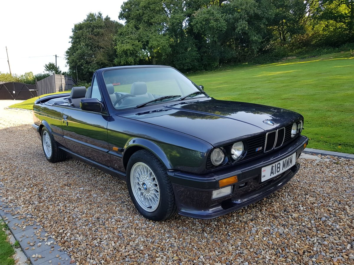 1989 BMW 325i Motorsport Convertable For Sale (picture 1 of 3)