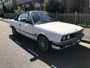 1990 BMW 320i convertible E30 modern classic For Sale
