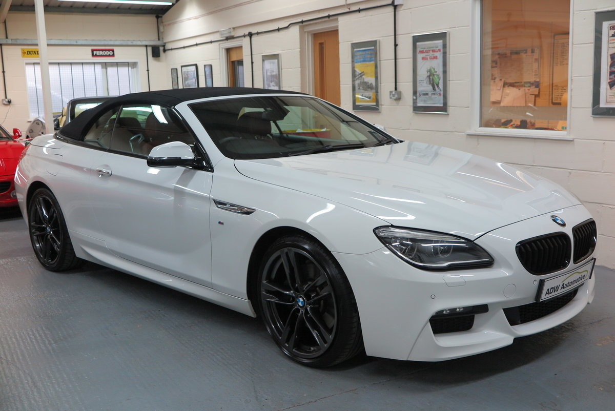 2015 65 BMW 640 3.0TD ( 313bhp ) Steptronic d M Sport Cab SOLD (picture 1 of 6)