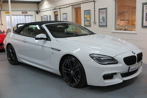 2015 65 BMW 640 3.0TD ( 313bhp ) Steptronic d M Sport Cab For Sale