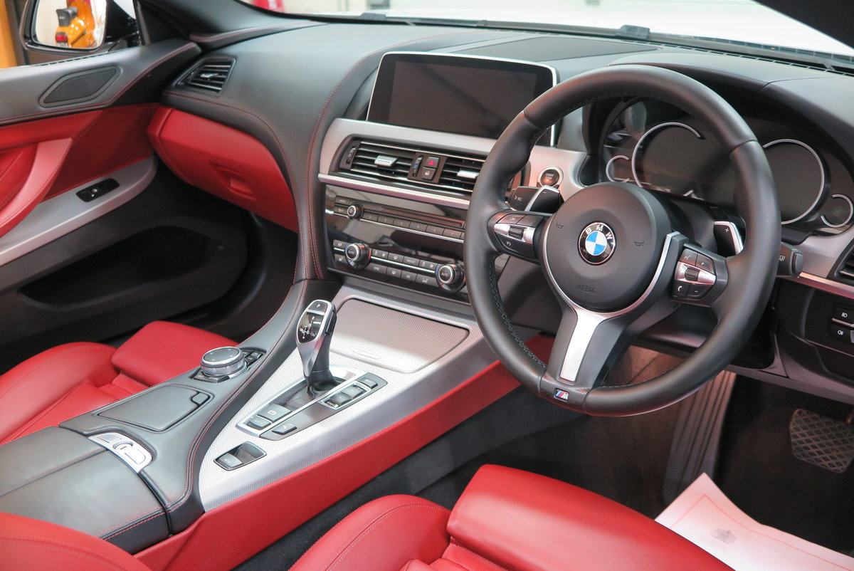 2015 65 BMW 640 3.0TD ( 313bhp ) Steptronic d M Sport Cab For Sale (picture 6 of 6)