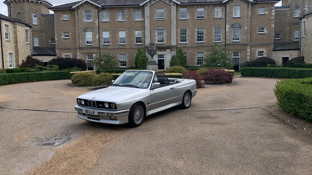 1991 BMW M3 e30 convertible in silver Rare  For Sale (picture 2 of 6)