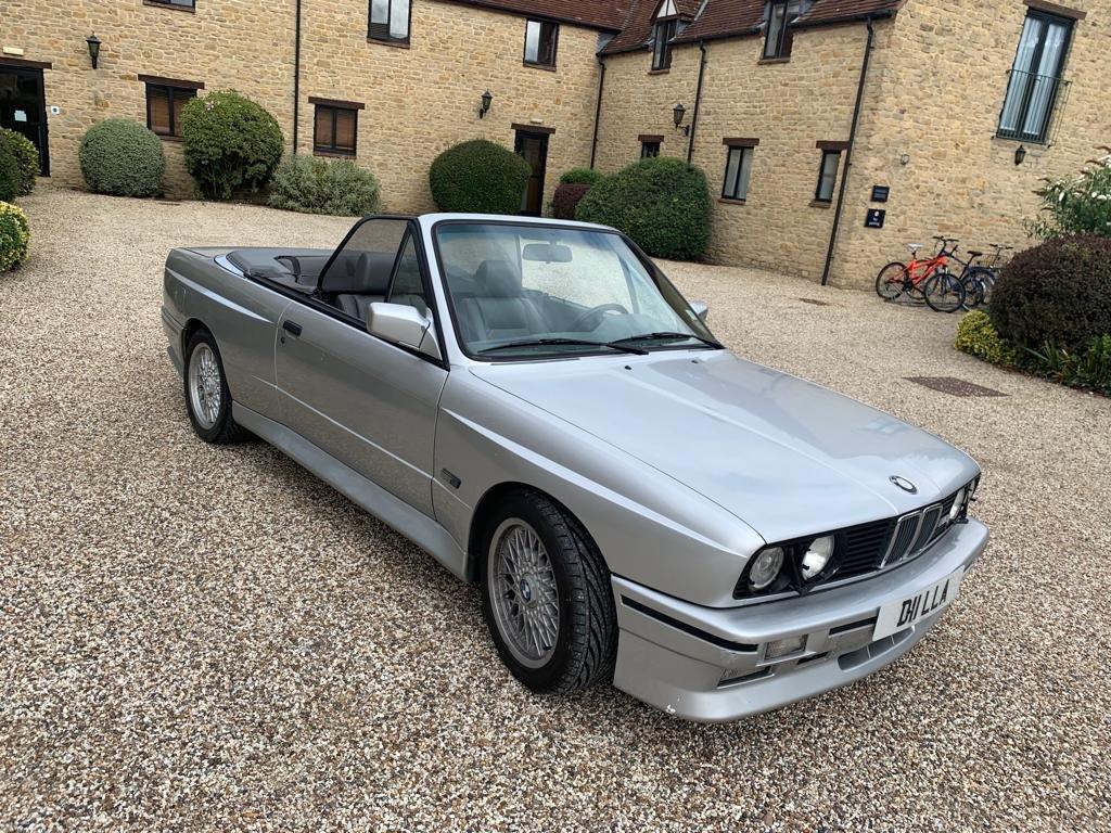 1991 BMW M3 e30 convertible in silver Rare  For Sale (picture 3 of 6)
