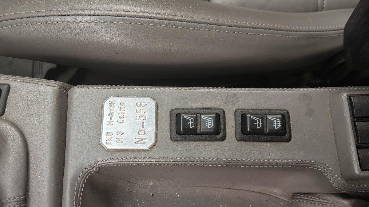 1991 BMW M3 e30 convertible in silver Rare  For Sale (picture 6 of 6)