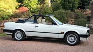 1989 BMW E30 320I BAUR CONVERTIBLE - EXCEPTIONAL