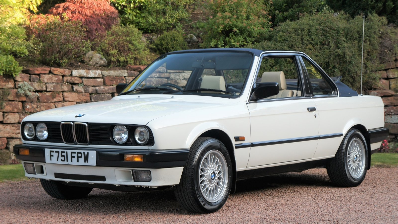 1989 BMW E30 320I BAUR CONVERTIBLE - EXCEPTIONAL SOLD (picture 2 of 6)