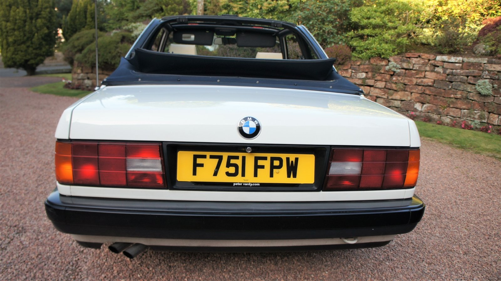 1989 BMW E30 320I BAUR CONVERTIBLE - EXCEPTIONAL SOLD (picture 3 of 6)