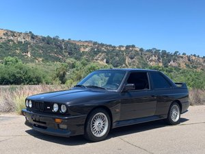 1987  BMW M3 E30 = Euro-specs Diamond Black Metallic driver  $obo