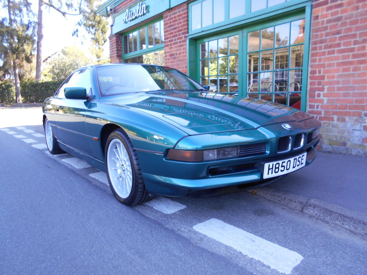 1991 BMW 850 Ci Coupe Automatic  For Sale (picture 2 of 6)