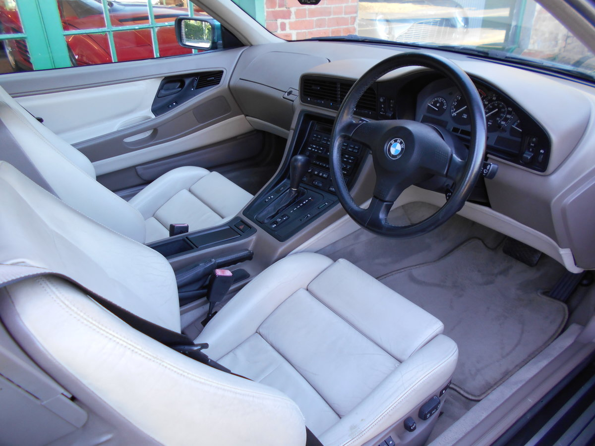 1991 BMW 850 Ci Coupe Automatic  For Sale (picture 4 of 6)