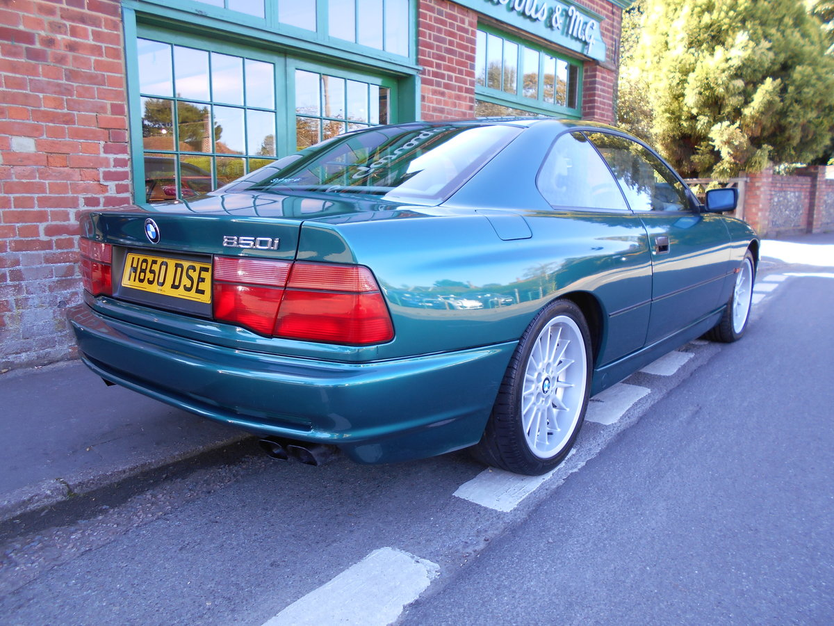 1991 BMW 850 Ci Coupe Automatic  For Sale (picture 5 of 6)