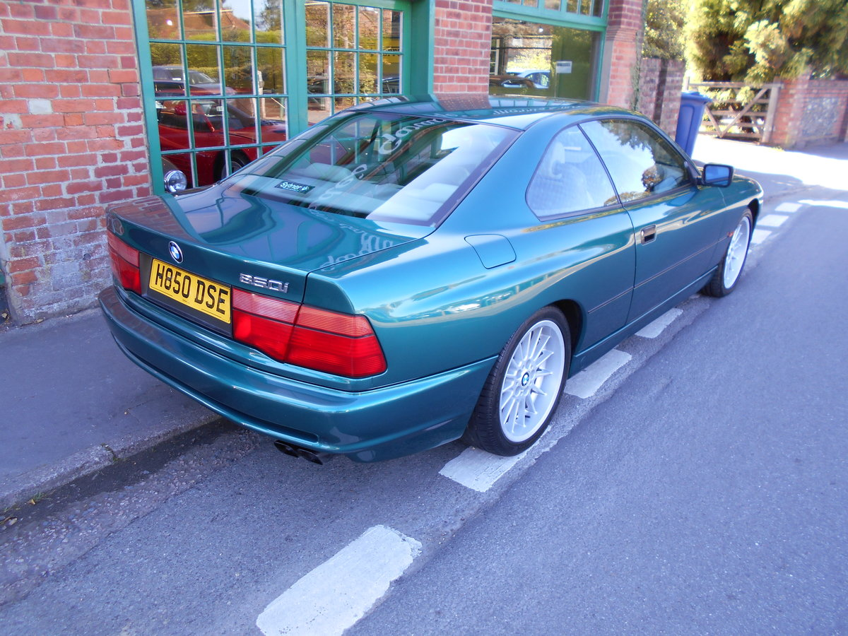1991 BMW 850 Ci Coupe Automatic  For Sale (picture 6 of 6)