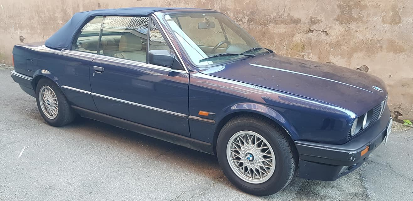 1992 BMW 318 I CABRIOLET 5900,00 EURO SOLD (picture 1 of 6)