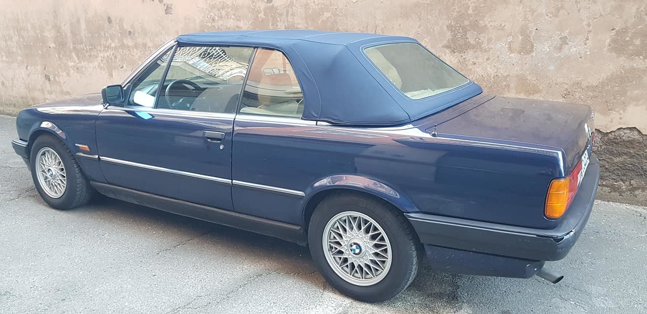 1992 BMW 318 I CABRIOLET 5900,00 EURO SOLD (picture 2 of 6)