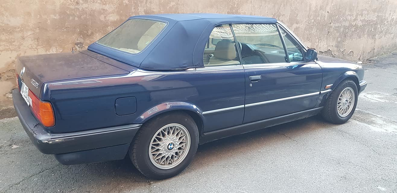 1992 BMW 318 I CABRIOLET 5900,00 EURO SOLD (picture 3 of 6)