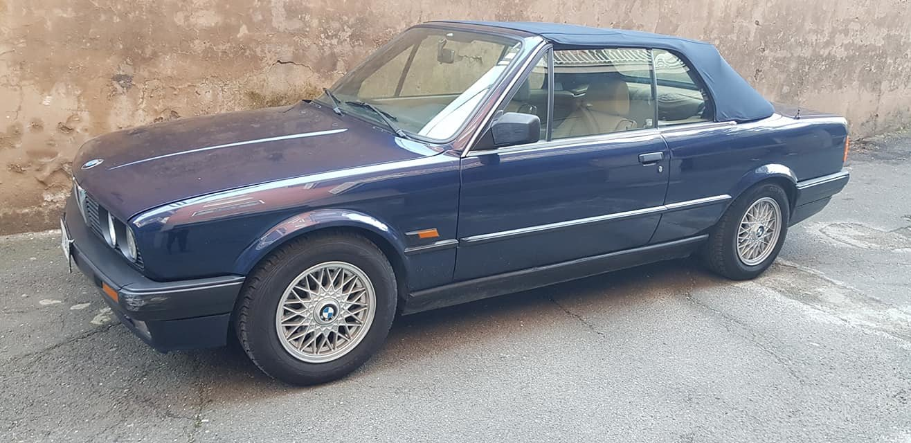1992 BMW 318 I CABRIOLET 5900,00 EURO SOLD (picture 4 of 6)