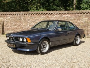 1980 BMW 635 CSI European car, only 131.381 km, full options, man