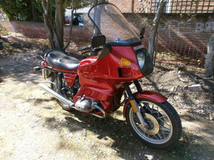 1984 BMW R80 RT  Low Mileage Original and complete.