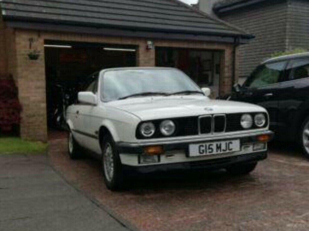 1990 BMW E30 325i Convertible, White Auto private For Sale (picture 2 of 6)