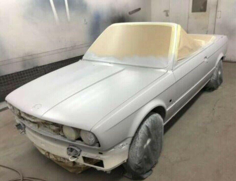 1990 BMW E30 325i Convertible, White Auto private For Sale (picture 5 of 6)
