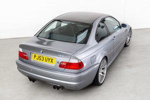 2003 BMW E46 M3 CSL - Silver Grey
