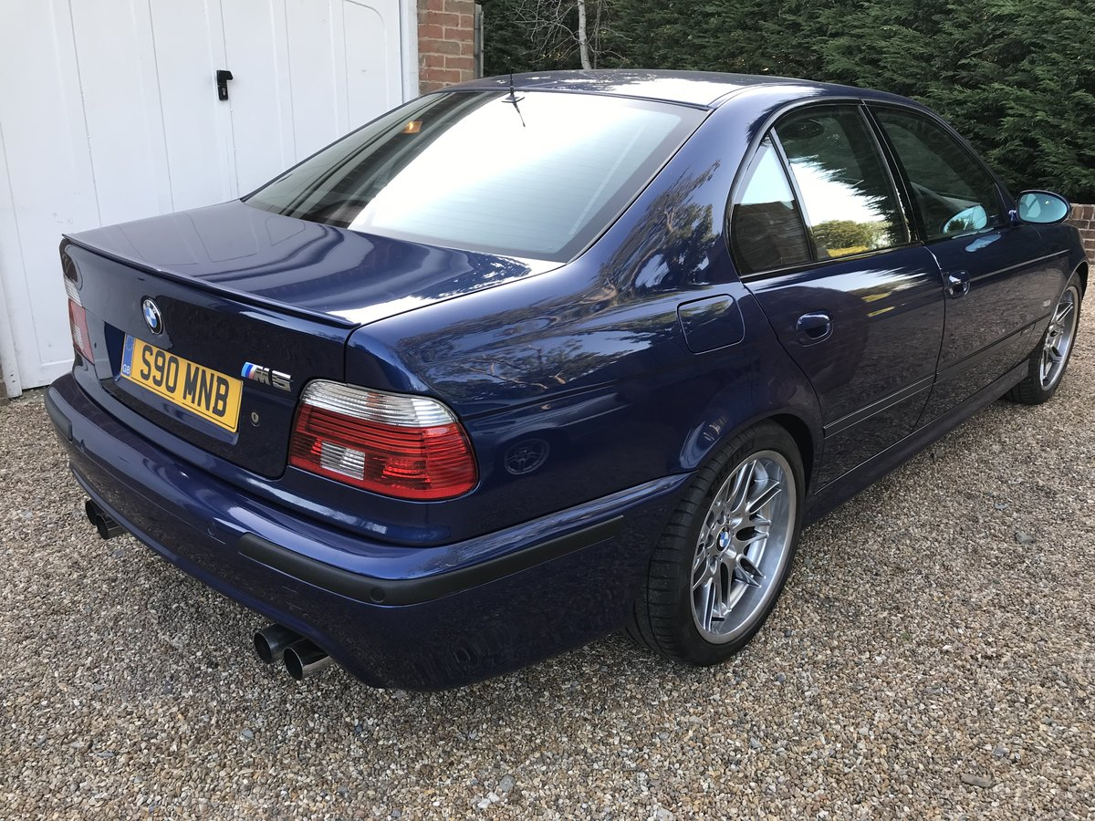 2002 BMW M5 E39, low mileage - 56k, low owners, For Sale (picture 4 of 6)