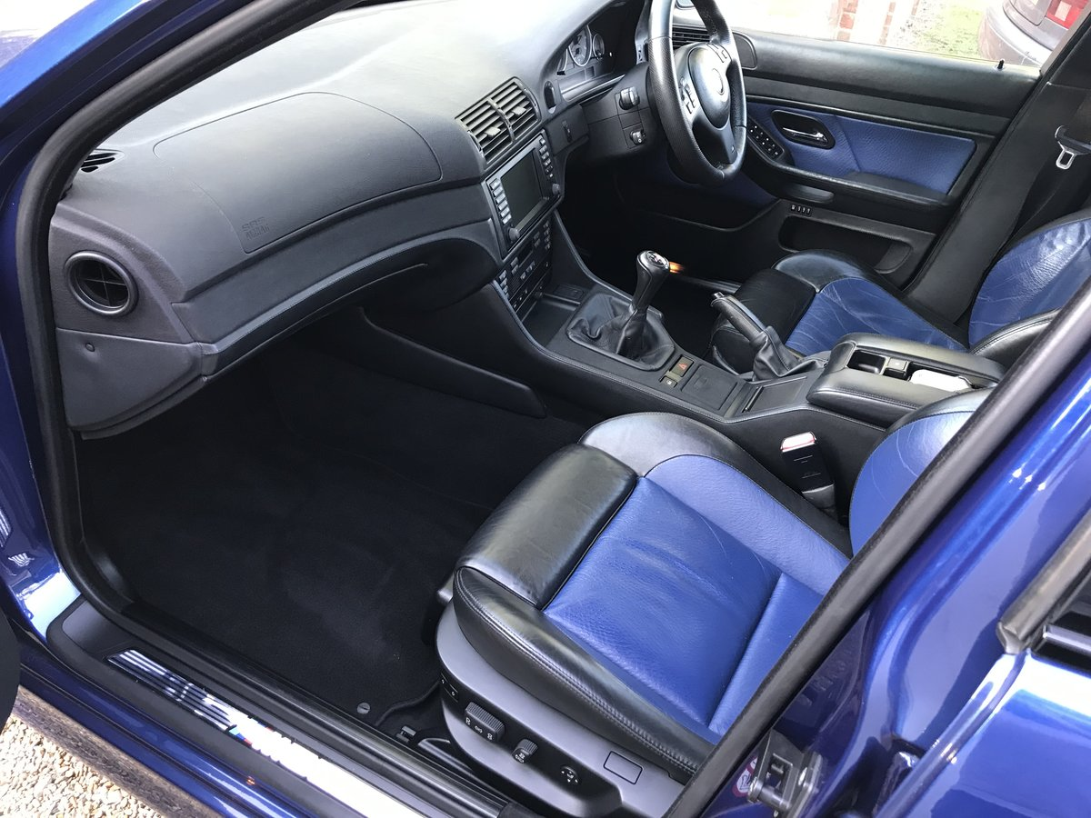 2002 BMW M5 E39, low mileage - 56k, low owners, For Sale (picture 5 of 6)