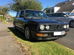 1986 BMW E28 M535i Black For Sale