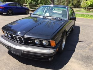 1987 BMW M6  E24 For Sale