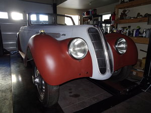 1938 BMW Certificate. In Primer. OZ80 Matching Numbers.
