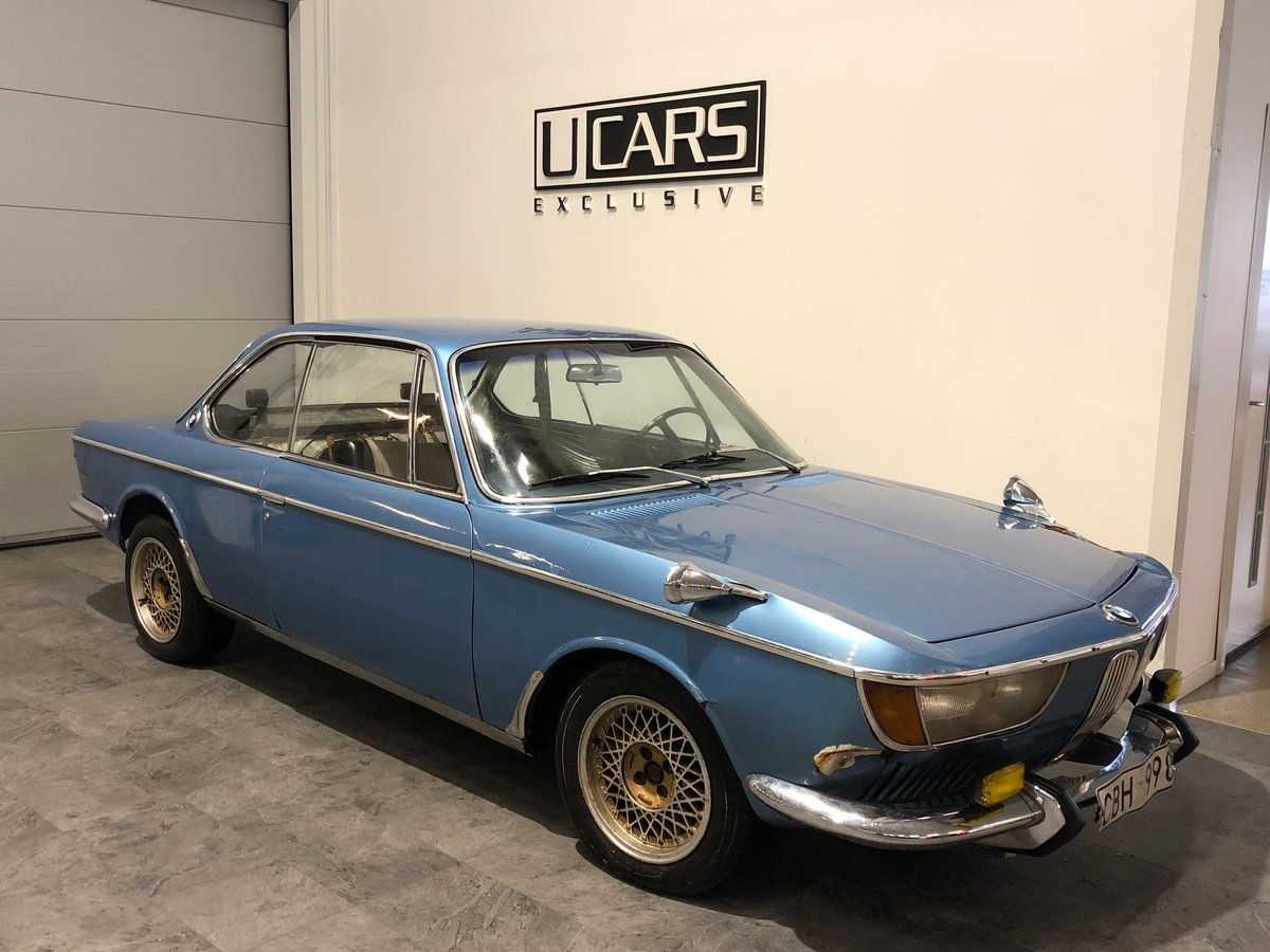 1967 BMW 2000 CS For Sale (picture 1 of 4)