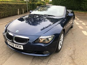 2009 BMW 650I MANUAL FULL SERV HISTORY 2 FORMER KEEPERS VGC