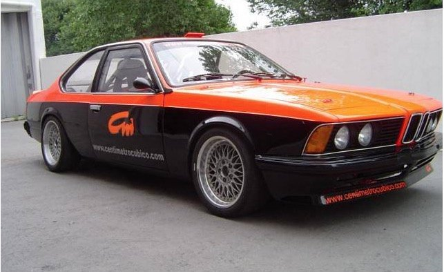 1980 BMW 635 CSI E24 Race Car For Sale (picture 1 of 6)
