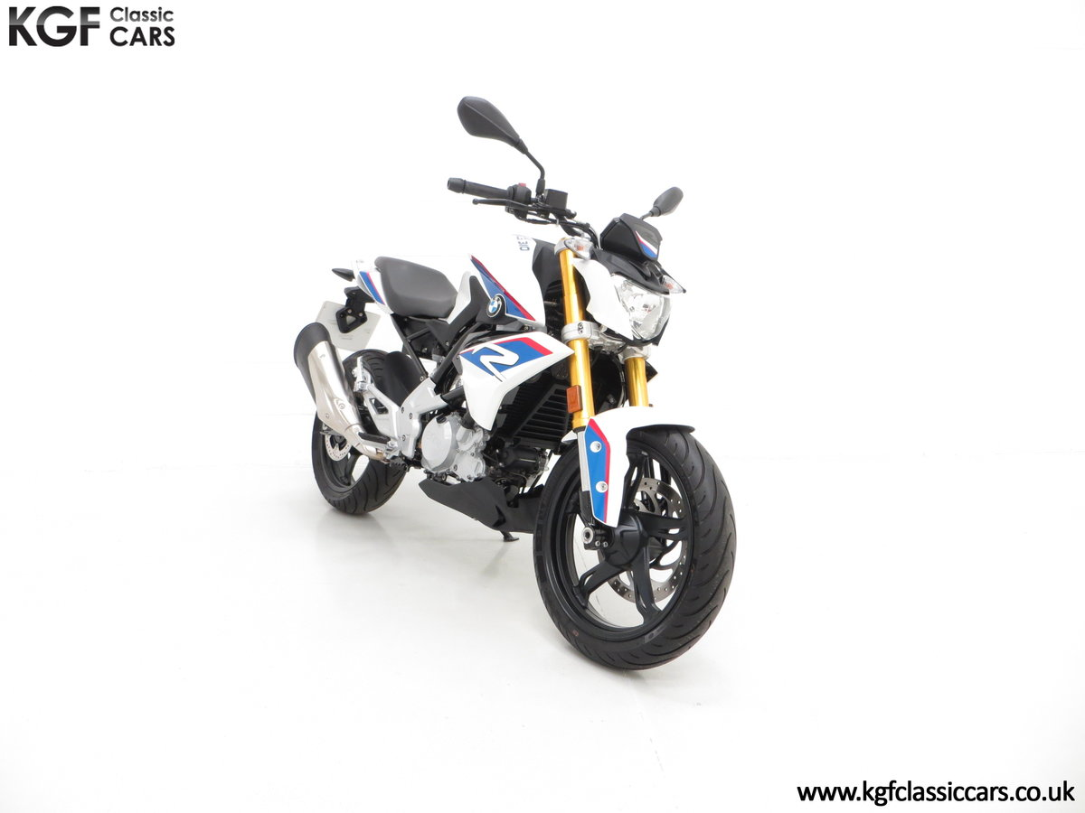 A Street Urban 2018 BMW G 310 R with Just 677 Miles SOLD (picture 1 of 6)