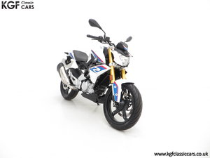 A Street Urban 2018 BMW G 310 R with Just 677 Miles SOLD