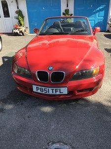1997 BMW Z3 Red 1.9