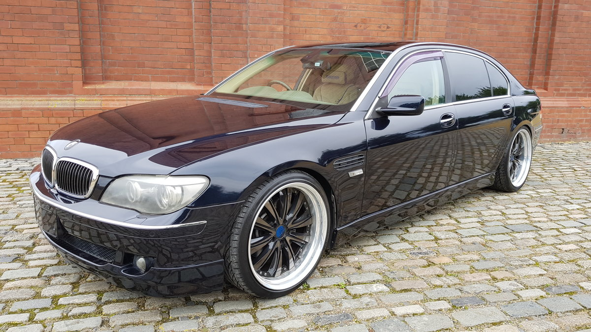 2006 BMW 7 SERIES 750li 4.8 AUTOMATIC LWB * VERY HIGH SPEC * For Sale (picture 1 of 6)